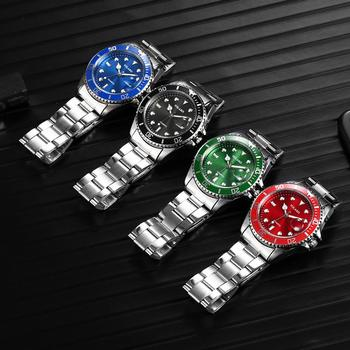YOLAKO Luxury Quartz Stainless Steel Sport Wristwatch 5