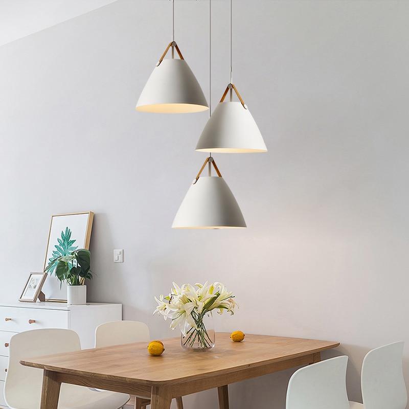Nordic Minimalist  Pendant Light Creative Bedside /restaurant /bedroom/ Bar Dining Table Study Pendant Lamp