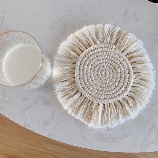 Cotton Macrame Coaster 2