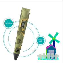 3D Printing 3D Pen with OLED Display Generation 3D Drawing Pen for Doodling Art Craft Making and Education Best Gift For Kids стоимость