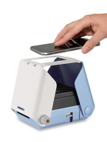 Mini mobile phone photo printer color photo without electricity without ink portable photo artifact