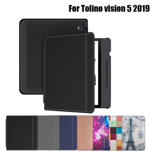 New Arrival Cover For Tolino Vision 5 7Inch 2019 Protective Magnetic E-readerr Case Cover Cover Slim Stand Leather Case#G35(China)