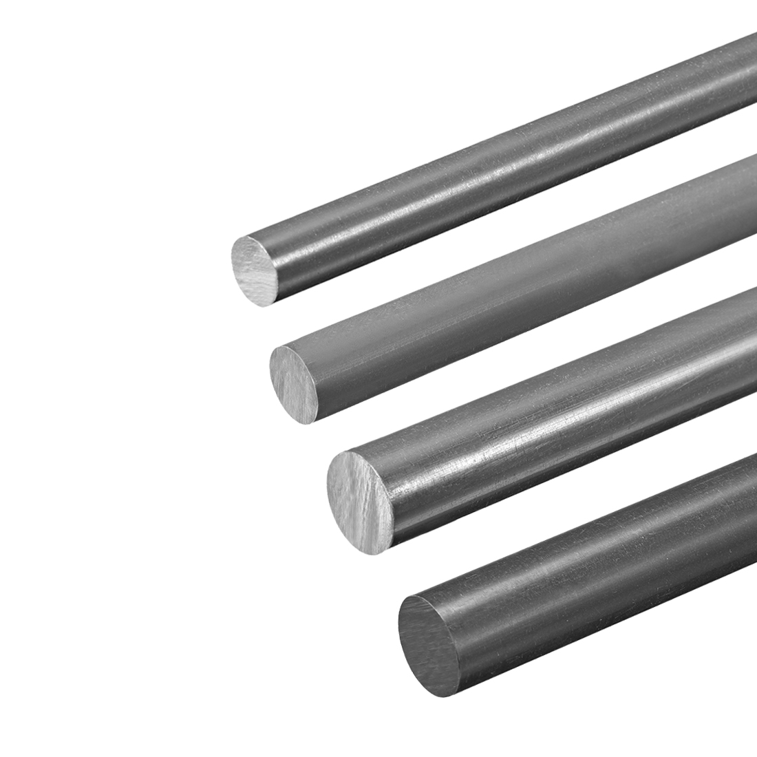 Uxcell PVC Round Rods 20