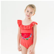 2020 Girls Swimwear Children Kids Swimsuit for 2-7Years Girl Swimming Suit Toddler Baby Summer One Piece Beachwear Bathing Set toddler kids swimsuit cute baby girl swimwear one piece with fruit pattern 3 10y girls swimsuit kid children swimming suits