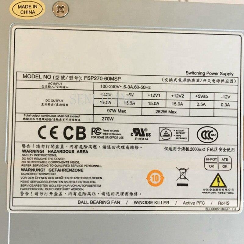 For FSP Group Inc FSP270-60MSP Server - Power Supply 270W PSU For Sever / Computer
