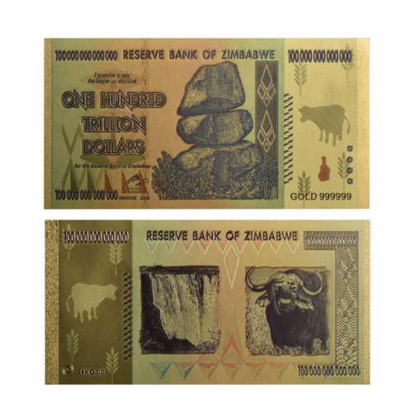 Всемирный банкнот для банкнот в размере 100 триллионов долларов