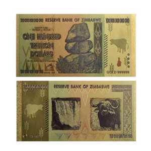 Zimbabwe 100 milliards de dollars billet de banque