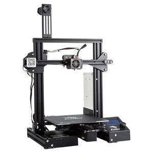 Image 3 - CREALITY 3Dเครื่องพิมพ์Ender 3 PROเครื่องพิมพ์ชุดพิมพ์หน้ากากยี่ห้อMWแก้วตัวเลือก3D Drucker Impresoraเครื่องพิมพ์ชุด