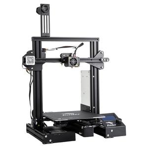 Image 3 - CREALITY 3D Printer Ender 3 PRO Printer KIT Print Mask With Brand MW Power Glass option 3D Drucker Impresora Printer Kit