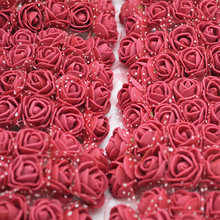 12/36/72/144Pcs 2cm Artificial PE Foam Flower Bouquet Tulle For Wreath Fake Flower Baby Shower DIY Wedding Home Decoration(China)