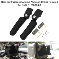 New Motorcycle Rear Box Passenger Armrest Aluminum Drilling Required For BMW R1200GS LC Adventure G310 GS F800GS ADV Tail Box