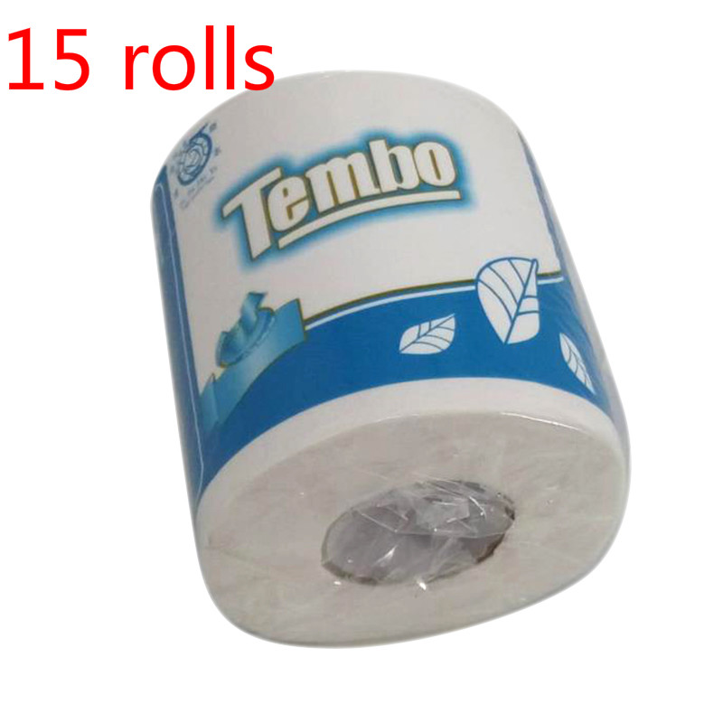 15 Rolls Silky Smooth Soft Professional Series Premium 3-Ply Toilet Paper Home Kitchen Toilet Tissue Soft High Quality Hot Sale