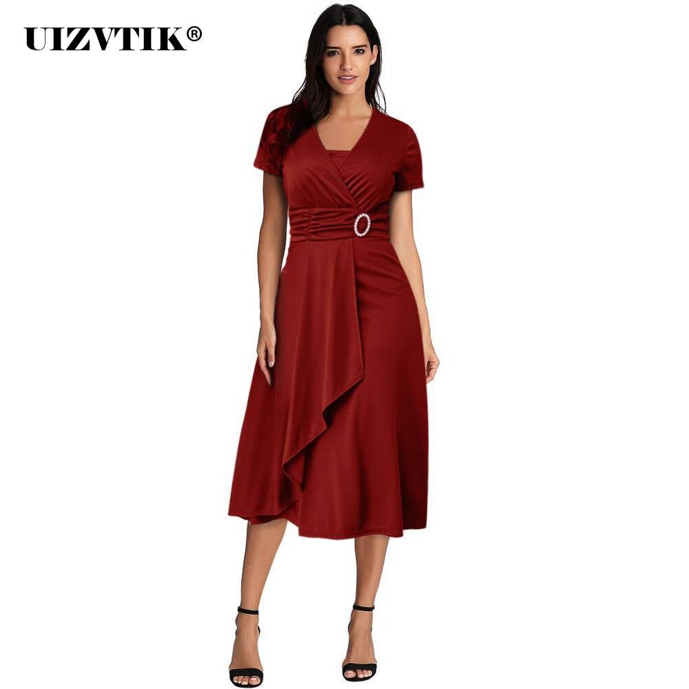 patchwork sommer kleid frauen 2020 sexy v-ausschnitt lange vestidos de  fiesta de noche casual plus größe dünne asymmetrie ball kleid kleider