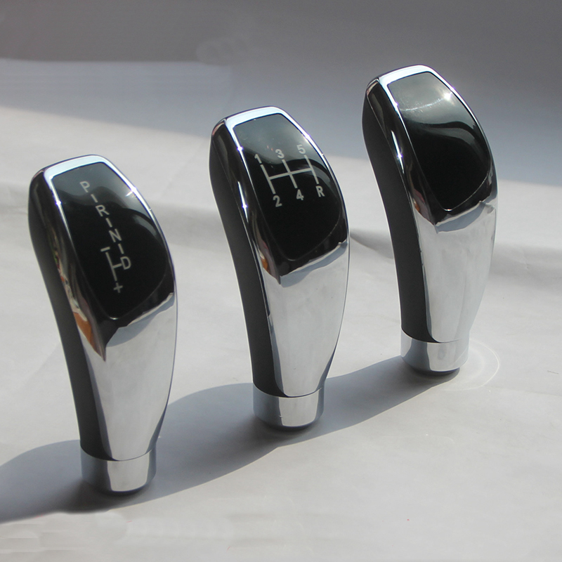 High-quality thumb-type universal handle Manual gear automatic head for bmw e46 m3  mk7.5 shift knob cover