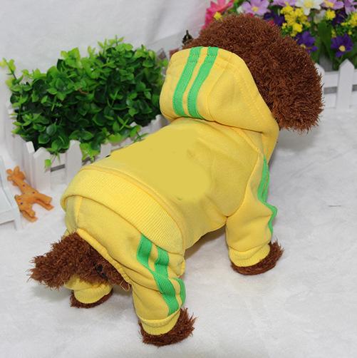PUOUPUOU Winter Warm Pet Dog Clothes Hoodies Sweatshirt for Small Medium Dogs French Bulldog Sweet Puppy Dog Clothing XS-XXL 12
