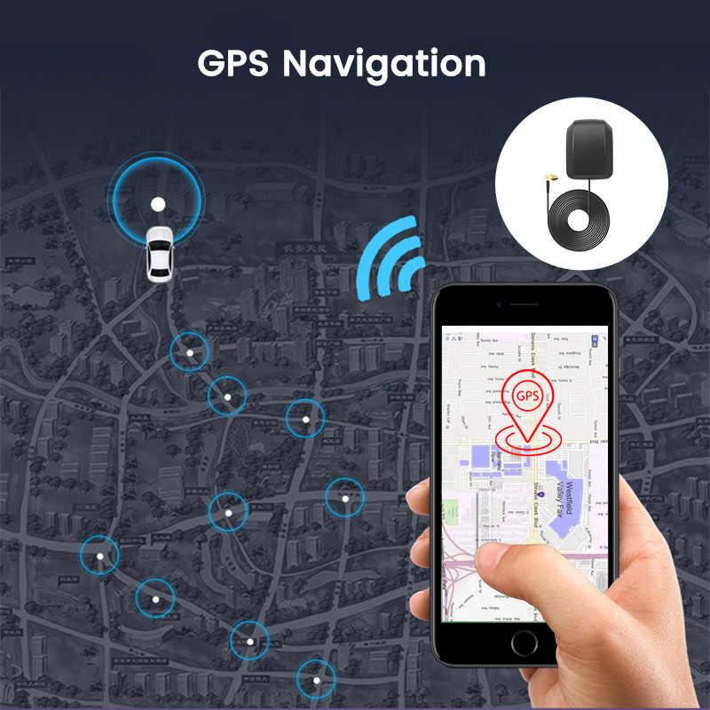 """E-ACE ADAS 4G """"IPS Xe Đầu Ghi Hình Camera Gương Dash Cam Đầu Ghi Hình Full HD 1080P Phía Sau quan Điểm Gương Android Wifi GPS"""
