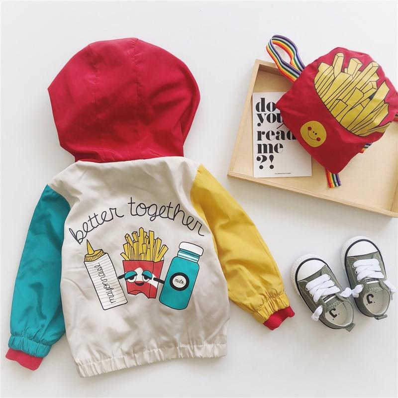 Tonytaobaby Autumn Clothing New Style Baby Fries Bag Coat Boys Jacket  Baby Girl Coat