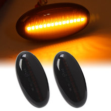 Indicador lateral de guardabarros, luces LED de señal de giro, repetidor dinámico, lámpara intermitente secuencial para MAZDA 2 3 5 6 BT-50 MPV