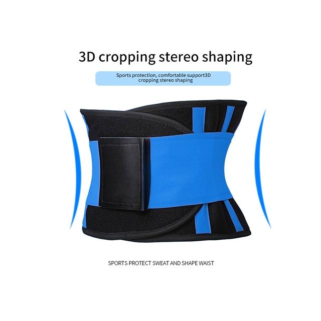 Body Shaper Waist Trainer Trimmer Corset Waist Belt Cincher Wrap Workout Shapewear Fitness