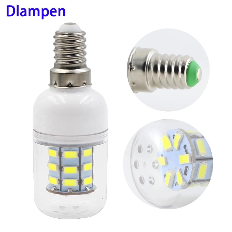 Ampolletas Led Bulb Light E14 3W Corn Bulbs Ac Dc 12v 24v Super 5730 Candle Spotlight 12 24 Volts 360 Degree Lighting E 14 Lamp