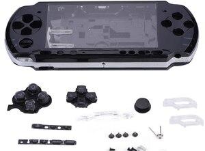 Замена для Sony PSP 3000 3001 3004 корпус Корпус Лицевая панель корпус часть PSP3000 игровая консоль высокое качество