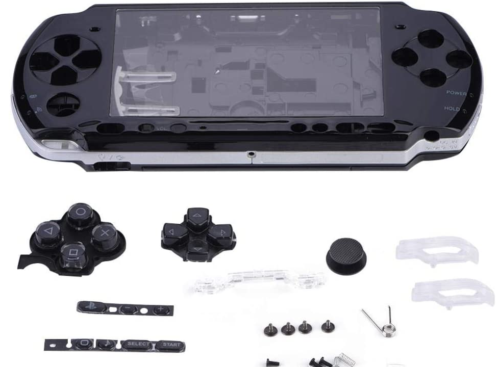 Replacement for Sony <font><b>PSP</b></font> 3000 3001 <font><b>3004</b></font> Housing <font><b>Shell</b></font> Faceplate Case Part PSP3000 Game Console High quality image