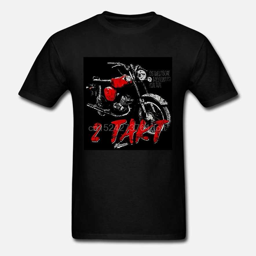 Camisa dos homens T 2 Takt S51 Ostdeutsche Motorrad Kultur Ddr Gráfico Camiseta Tops Simson 2 Acidente Vascular Cerebral Ciclomotor Simme Akf suhl Motor (2)