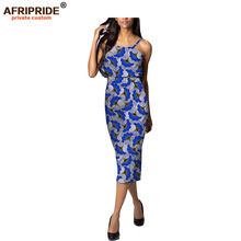 2017African style Top and Skirt dress for women new batik fabrics fashion ladys bazin riche femme casual clothingA722613