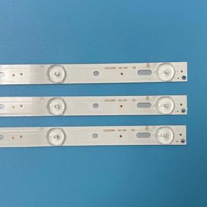 Image 4 - TV Beleuchtung Für Philips 32PHH4101/88 32PHH4200/88 32PHH4309/60 Led hintergrundbeleuchtung Bar Streifen Linie Herrscher GJ 2K15 d2P5 D307 V1 V1.1