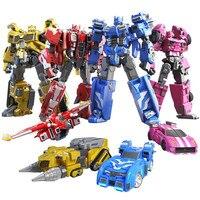 Mini Robot de Transformation de Force, jouets figurines d'action MiniForce X, Simulation de déformation d'avion, Mini Agent, 2020