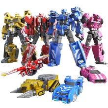 2020 Mini Force Transformation Robot Toys Action Figures MiniForce X Simulation Car Airplane Deformation Mini Agent Toy