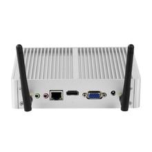Mini PC  X32 Fanless Intel Core i7 5500U  i5 4200Y  HDMI VGA 6*USB 300Mbps WiFi HTPC Micro Desktop Computer Windows 10 Linux