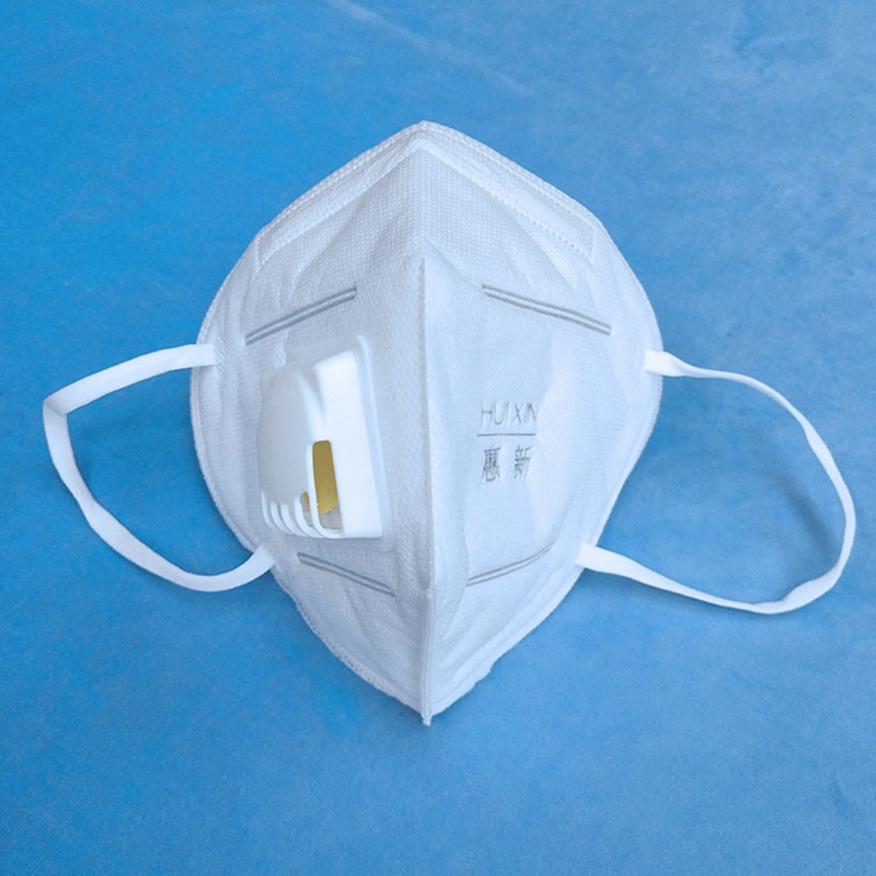 1PC 3D Mouth Mask With Breathing Valve White Dustproof Facial Cover Breathable Face Mask For Mouth-muffle Proof Flu Dropship New