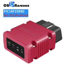 Car Engine Fault Code Reader OBDResource P02 Bluetooth 4.0 for Android iPhone iOS Faslink X PK ELM327 V1.5 PIC18F25K80