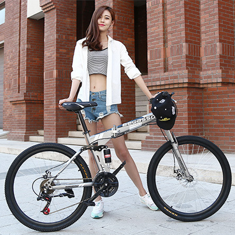 New 24inch mountain bike Woman man bicycle 21speed folding mountain bike Spoke wheel knife wheel mountain New 24inch mountain bike Woman/man bicycle 21speed folding mountain bike Spoke wheel/knife wheel mountain bicycle Adult bike