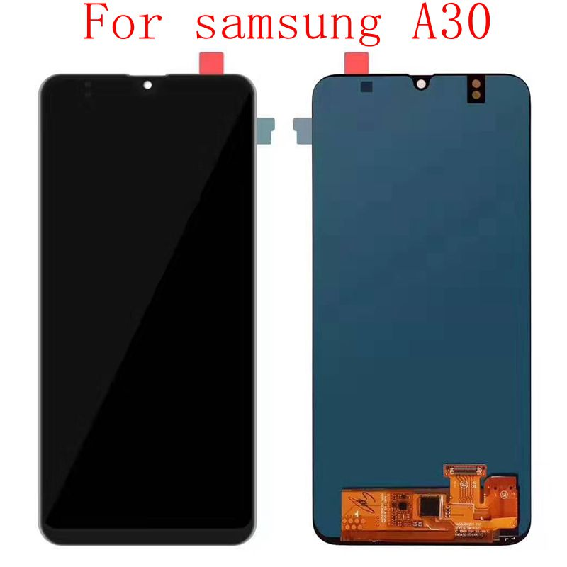 Amoled For <font><b>Samsung</b></font> Galaxy <font><b>a30</b></font> A305/DS A305 A305FD <font><b>Lcd</b></font> <font><b>Screen</b></font> Display+Touch Glass DIgitizer Assembly image