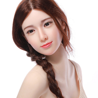Realistic 165cm silicone lifelike adult love dolls vagina real pussy non inflatable big butts sex doll for man