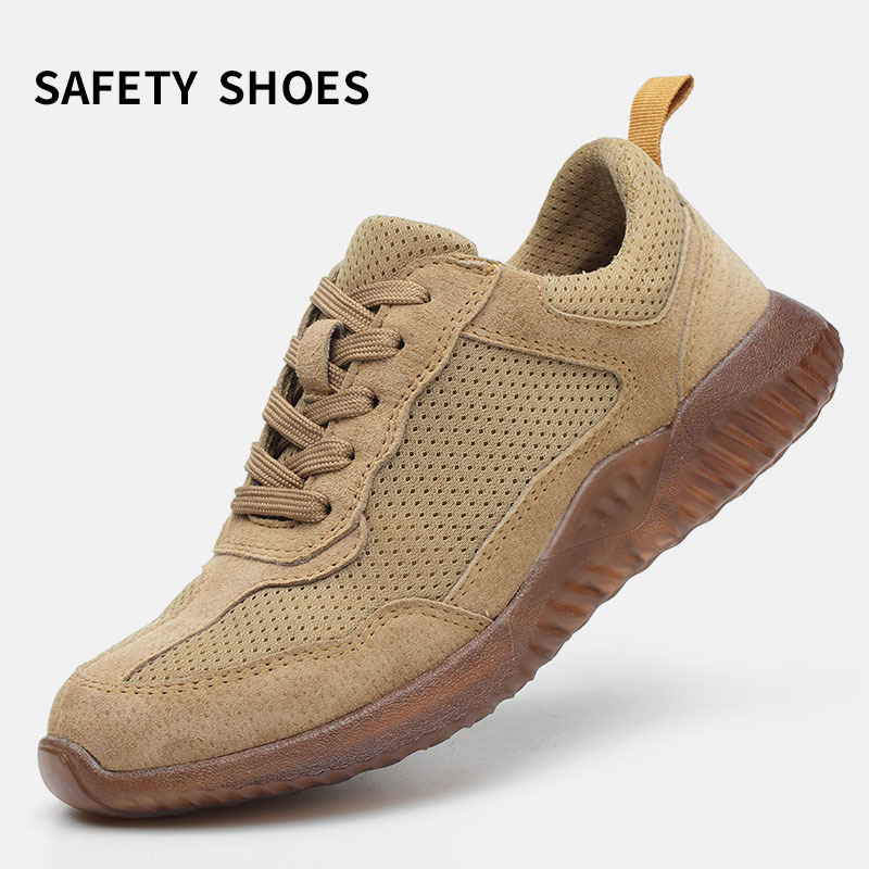 Modyf Men Steel Toe Work Safety Shoes Lightweight Mens Sneakers Outdoor F34