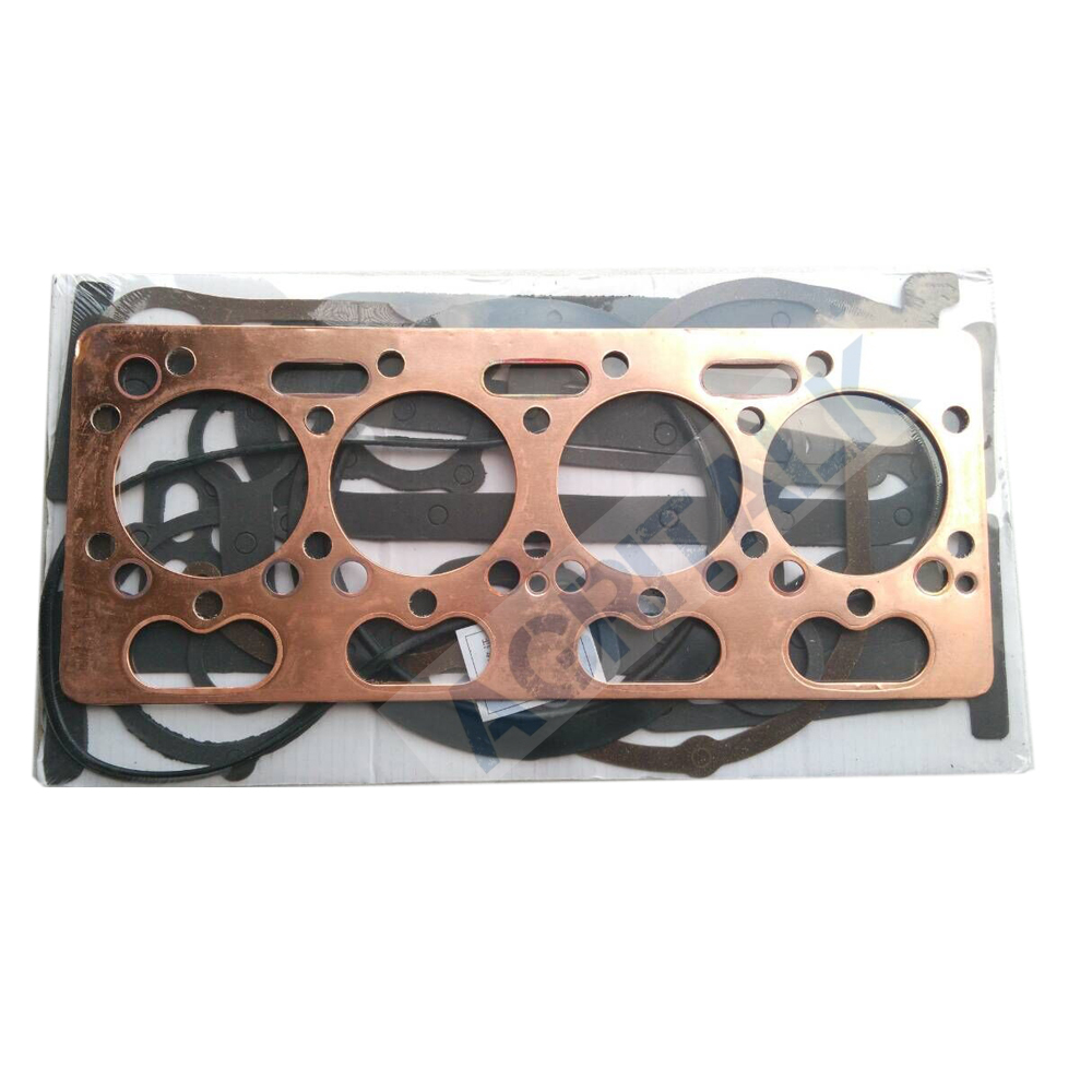 The Set Of Gasket Kit Including The Head Gasket, Suitable For Shanghai (Newholland ) Engine 495A