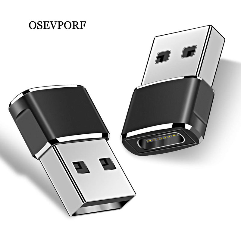OTG USB Type C Adapter USB To Type-c Data Converter USB C OTG Adapter For Samsung S9 S8 S10 Plus Xiaomi Samsung USBC Charge Cabo