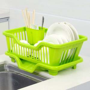 Drying-Rack Kitchen Basket Holder Drainer Washingorganizer-Tray Multi-Function