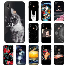 Fashion Black Silicone Case For Vivo Y83 Pro Cases Soft TPU Phone Cover Y71 Y71i Y53 Y55 Y66 Y67 Bumper Fundas