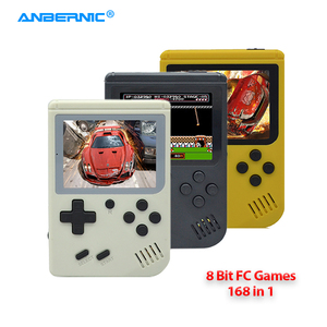 ANBERNIC FC168 Handheld Game Player 168 Classic TV Video FC Games 8 Bit Portable Retro Mini Game Console Child Gift & Gamepad