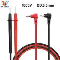Multímetro Digital Universal de aguja de punta fina, Cable de prueba, probador de Cable