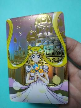 Sailor Moon zabawki Hobby Hobby kolekcje kolekcja gier karty Anime tanie i dobre opinie TAKARA TOMY Q675 8 ~ 13 Lat 14 Lat i up 2-4 lat 5-7 lat Chiny certyfikat (3C) Zwierzęta i Natura Fantasy i sci-fi