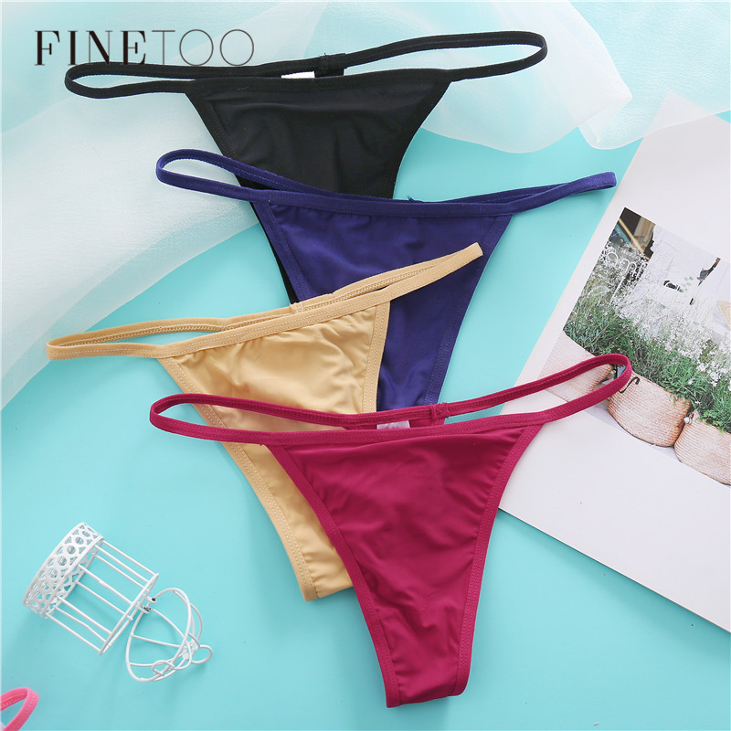 Cotton Thong Panties M-XL Sexy Briefs Seamless Thongs Women Underwear Panties For Ladies Panty G String Tangas Majtki Damskie