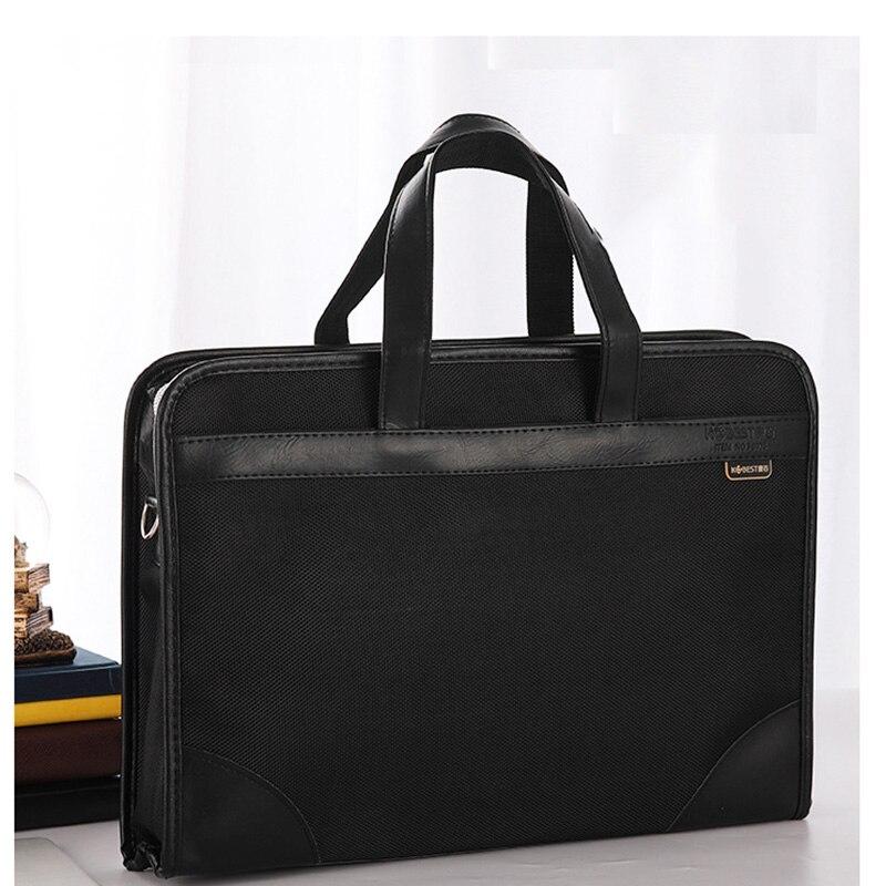 2019 New Nylon Briefcase Men Shoulder Bag Office Handbag Laptop Bag Business Style Casual Men Messenger Crossbody Bag Male