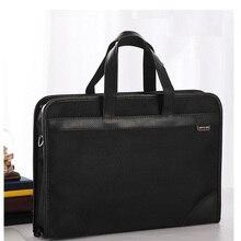 цена на 2019 New Nylon Briefcase Men Shoulder Bag Office Handbag Laptop Bag Business Style Casual Men Messenger Crossbody Bag Male