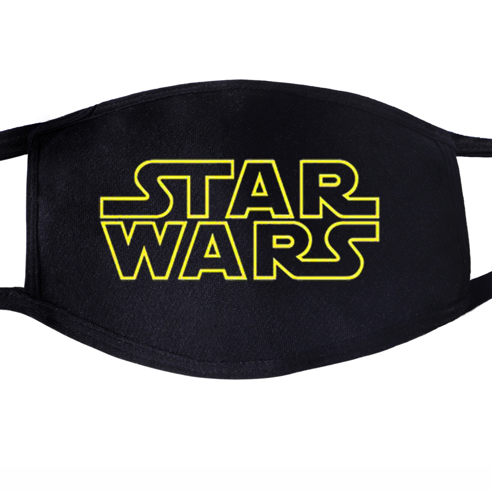 Star Wars Darth Vader Pattern Face Mask Mouth 1pcs Dustproof Unisex Anti Dust Black Respirator  Join The Empire Masks