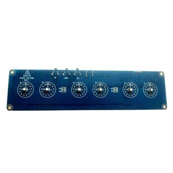 New 5V 1A Electronic DIY Kit In14 Nixie Tube Digital LED Clock Gift Circuit Board Kit PCBA, No Tubes